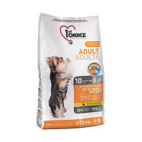 1st Choice Adult Toy and Small breed (Фест Чойс) для взрослых собак мини и малых пород с курицей, 7 кг