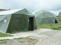 Армейские Палатки прорезиненные ПВХ (полихлорвинил) 3х4