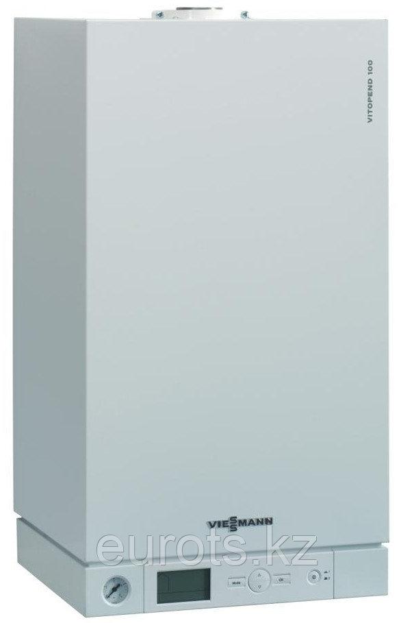 24 кВт. Малогабаритный газовый комбинированный настенный котел VITOPEND 100-W