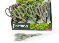 7655 FISSMAN Ножницы бытовые 20 см кухонные (нерж. сталь)