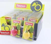 7714 FISSMAN Силиконовый фильтр для заваривания чая в форме лимона или клубники