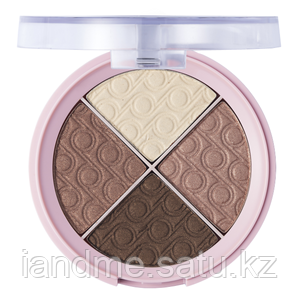Четырехцветные тени для век Quartet Eyeshadow Pretty By Flormar