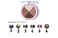 Четырехцветные тени для век Quartet Eyeshadow Pretty By Flormar, фото 2