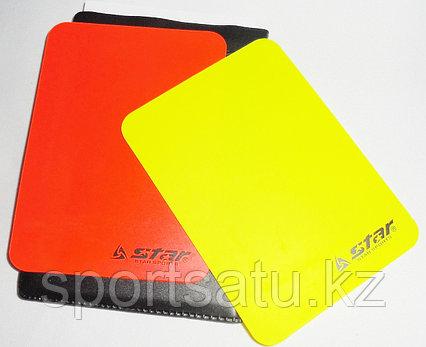 Судейские карточки для футбола