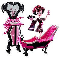 Набор с куклой Monster High Ванная Дракулауры Powder Room Drakulaura, фото 1