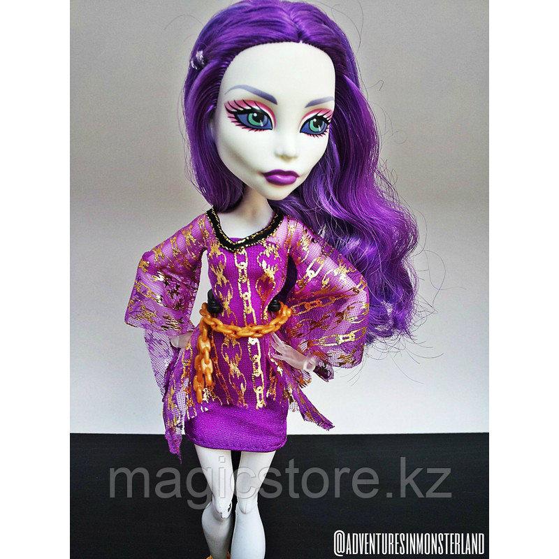 Набор с куклой Monster High Спектра Вондергейст Комната Для Вечеринки - фото 6