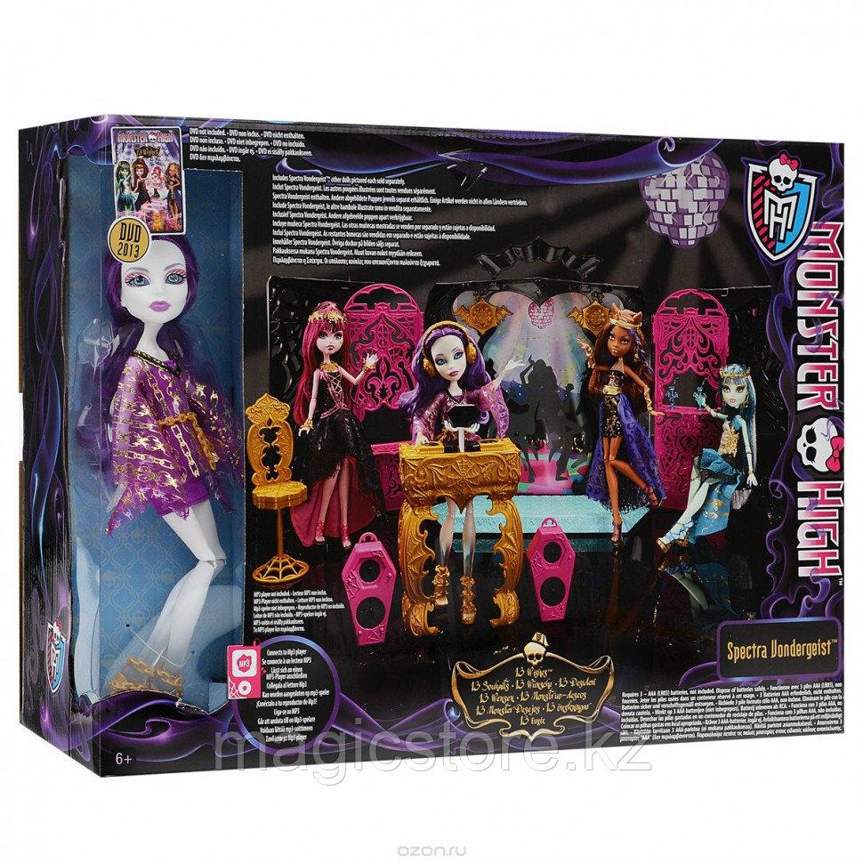 Набор с куклой Monster High Спектра Вондергейст Комната Для Вечеринки - фото 5