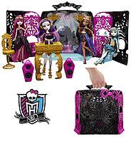 Набор с куклой Monster High Спектра Вондергейст Комната Для Вечеринки, фото 1