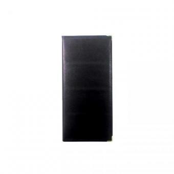 Визитница DELI на 180 визиток, PVC черная