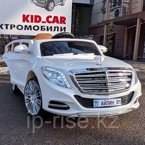 Детский электромобиль Mercedes-Benz S class W222