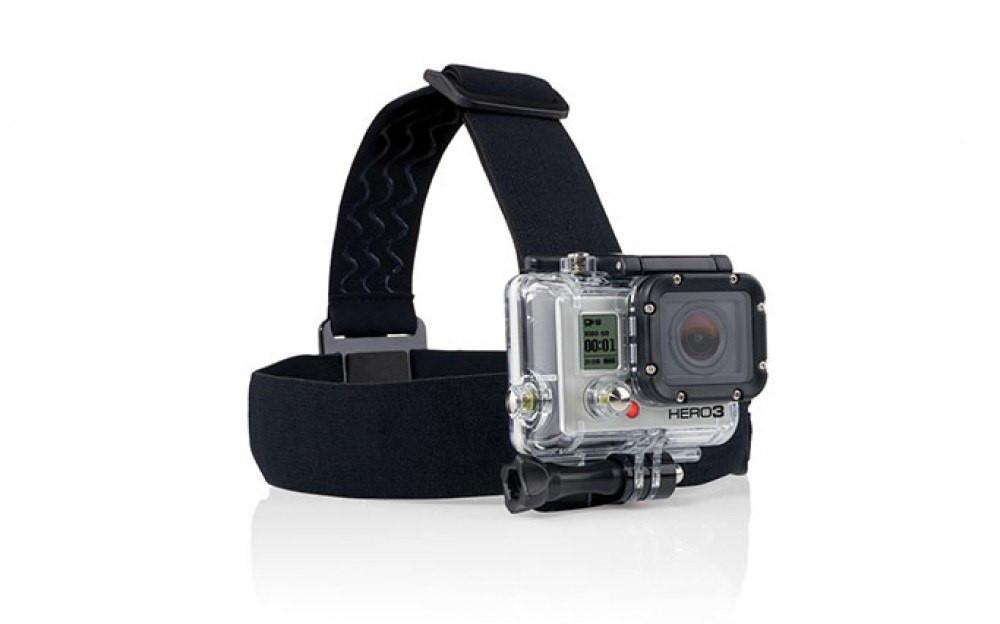 Крепление на голову для GoPro 5/4/3+/3/SJCAM/Xiaomi (Head Strap)