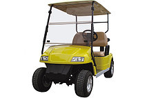 Гольфкар 2-х местный желтого цвета EG2028K