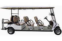 Пассажирский кар 8-ми местный белого цвета грузоподъемностью 640 кг EG2069KSF