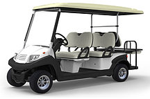 Пассажирский кар 6-ти местный белого цвета EG204AKSZ