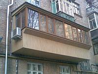 Пластиковые балконные фасады в Алматы