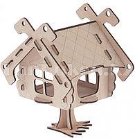 Кормушка для птиц, Избушка, большая 64000 (002)