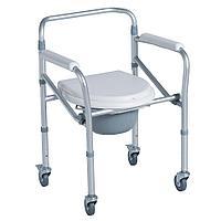Кресло-туалет на колесах