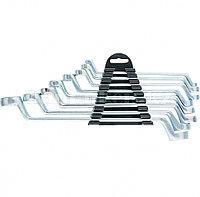 Набор ключей накидных, 6 22 мм, 8 шт., хромированные 153755 (002)