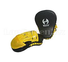 Лапы для бокса Rase черно желтые