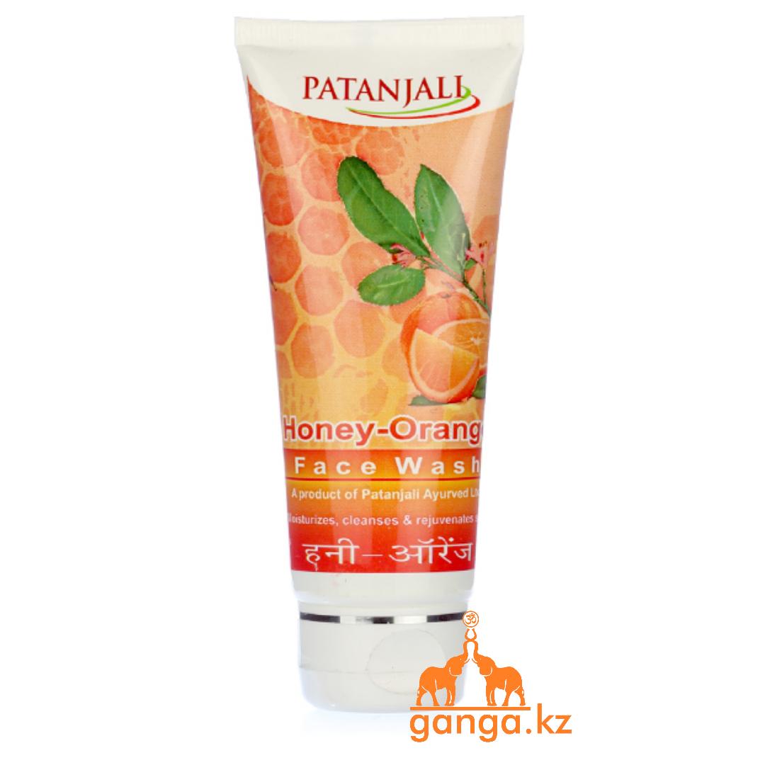 Гель для умывания Мёд и Апельсин (Honey Orange Face Wash PATANJALI), 60 мл.