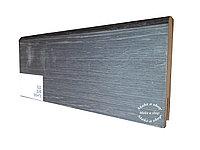 Плинтус МДФ с покрытием ПВХ 8см х 2,40м 520 Дуб венге