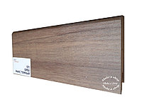 Плинтус МДФ с покрытием ПВХ 8см х 2,40м 511 Орех микс темный