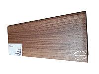 Плинтус МДФ с покрытием ПВХ 8см х 2,40м 503 Вязь темный