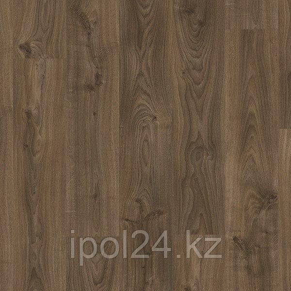 Виниловый ламинат Quick-Step Balance Click  Дуб коттедж темно-коричневый