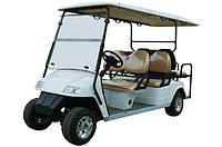 Пассажирский кар 6-ти местный с задним складным сиденьем белого цвета EG2048KSZ, фото 1
