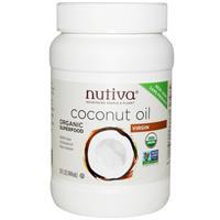 Органическое кокосовое масло первого отжима нерафинированное, 444 мл, Nutiva