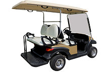 Пассажирский кар 4-х местный белого цвета EG202AKSF