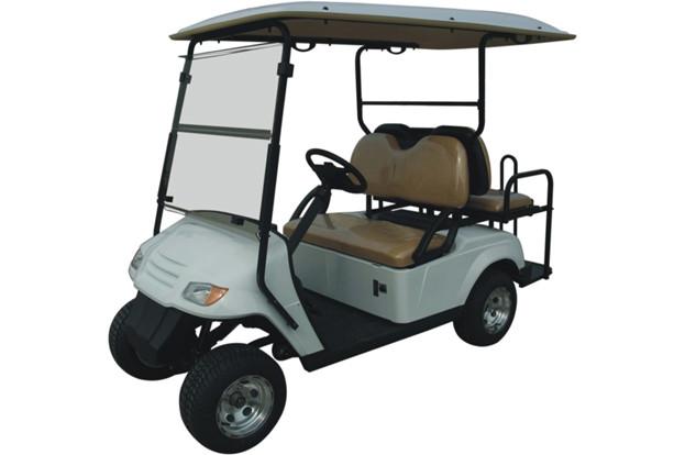 Пассажирский кар 4-х местный со складным задним сиденьем белого цвета EG2029KSZ