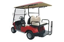 Пассажирский кар 4-х местный со складным задним сиденьем красного цвета EG2028KSZ