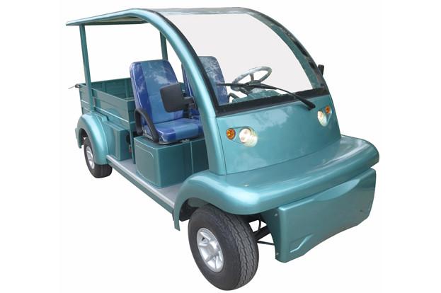 Гольфкар с грузовым ящиком и съемным задним сиденьем для вместительности EG6063KCX