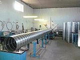 Воздуховод круглый  из оцинкованной стали толщиной  0,7 мм., фото 2