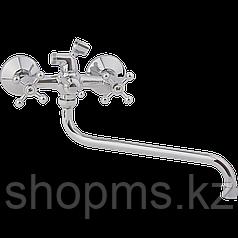 Смеситель ARCO ванна маховик пластик крест, А2507