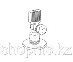 """Кран шаровый угловой Royal Thermo OPTIMAL для подкл. с/т приборов 1/2""""x3/8"""""""