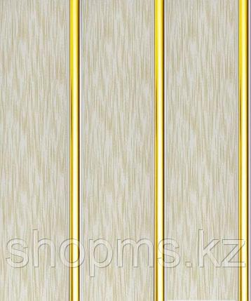 Панель пластиковая трехсекционная Ванильный дождь (0,25*3м/12), фото 2
