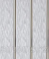 Панель пластиковая трехсекционная Серый дождь (0,25*3м/12)