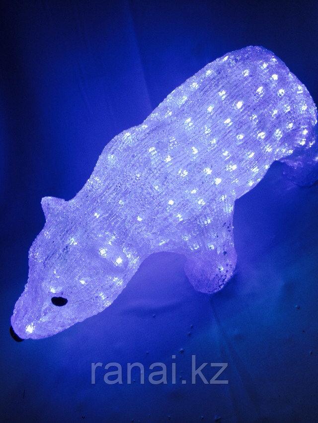 """Cветодиодные уличные 3D фигуры акриловые  """"Медведь"""""""