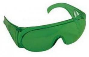 """Очки защитные открытого типа зеленые """"Master"""""""