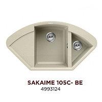 Кухонная мойка Omoikiri Sakaime 105C-BE 4993124 ваниль