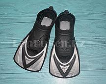 Ласты тренировочные для плавания серые GF0293A 36-39 р