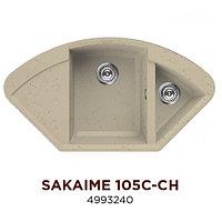 Кухонная мойка Omoikiri Sakaime 105C-CH 4993240 Tetogranit/Шампань