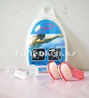 Комплект беруши и зажим для плавания в ассортименте Розовый