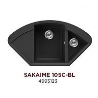 Кухонная мойка Omoikiri Sakaime 105C-BL гранит угловая 4993123, фото 1
