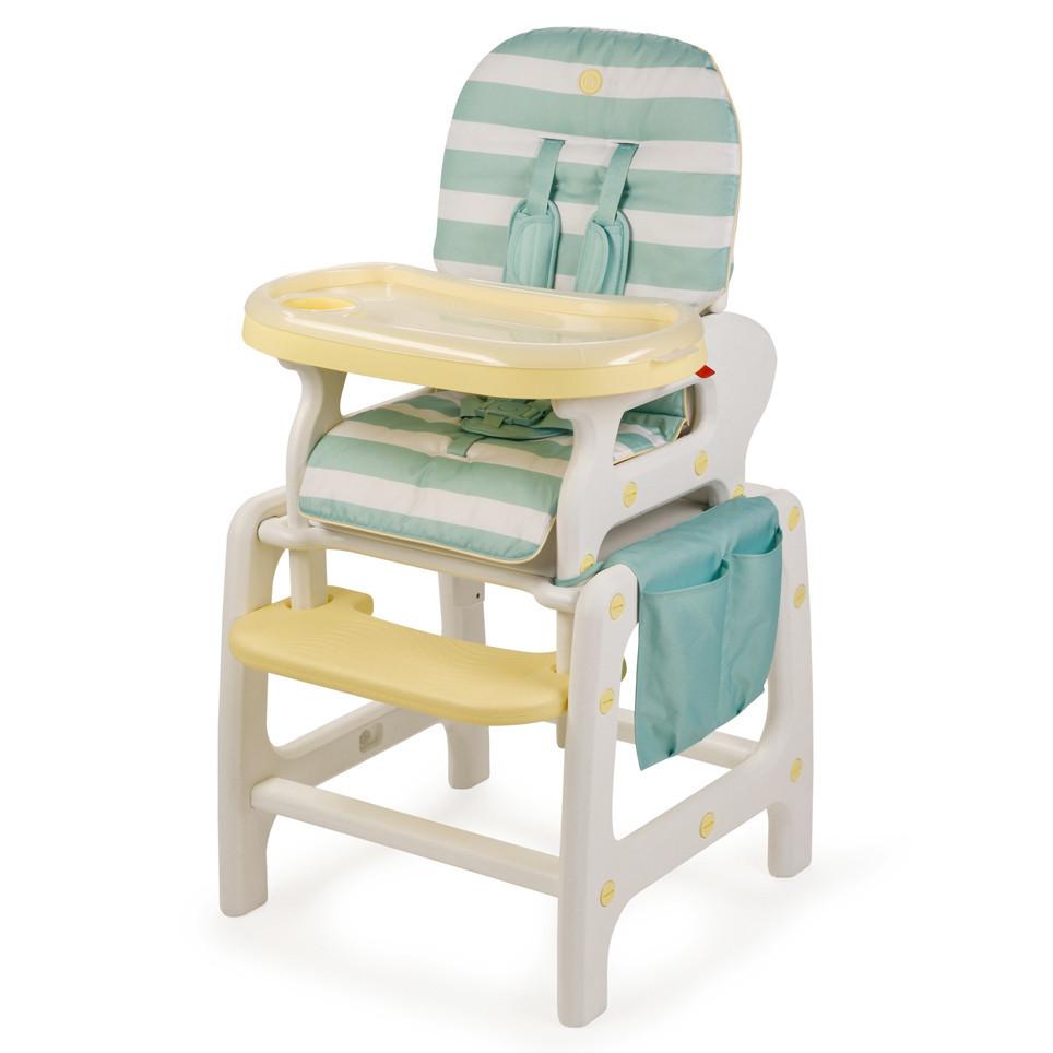 Стульчик для кормления Happy Baby OLIVER V2 - жёлтый