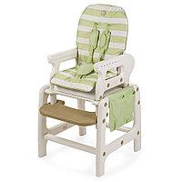 Стульчик для кормления Happy Baby OLIVER V2 - зелёный