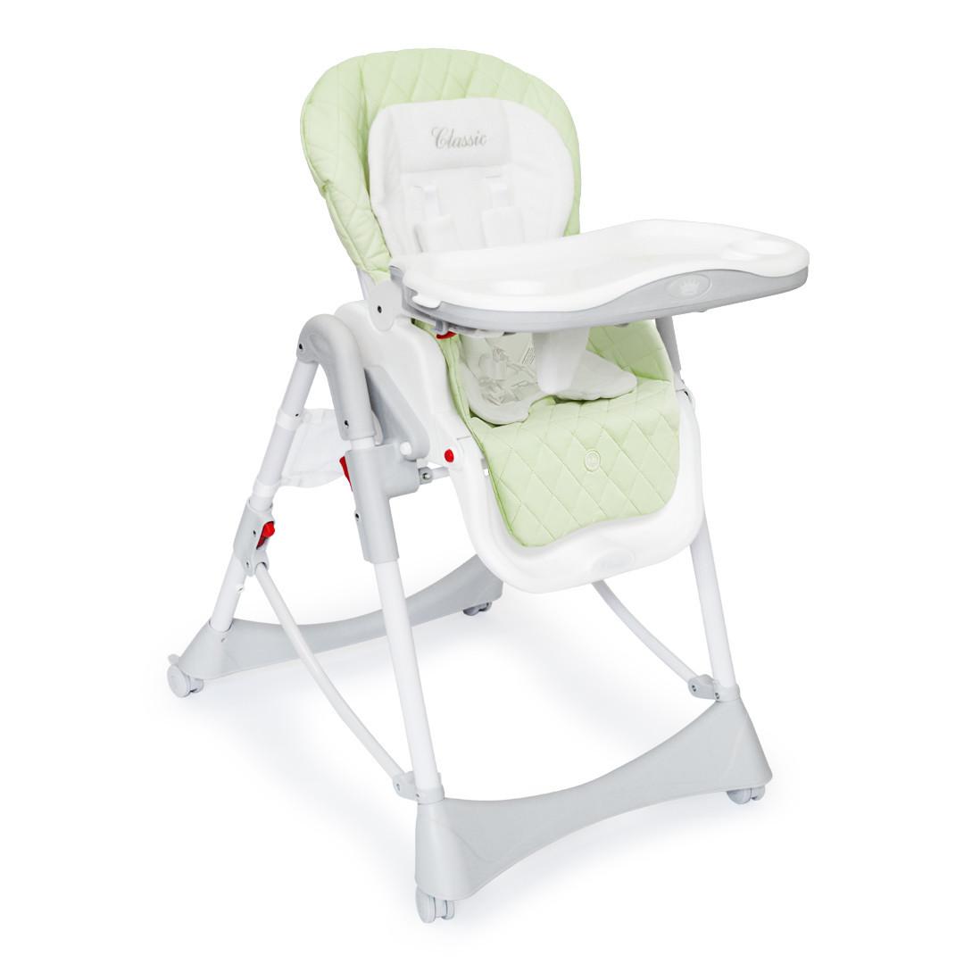 Стульчик для кормления Happy Baby WILLIAM - зелёный