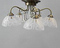 Люстра потолочная на 5 лампочек, фото 1
